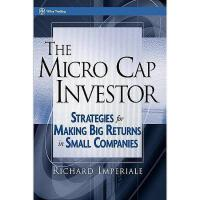 【预订】The Micro Cap Investor: Strategies For Making Big