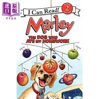【中商原版】I Can Read Level 2 我可以读2级 玛丽 Marley The Dog Who Ate My