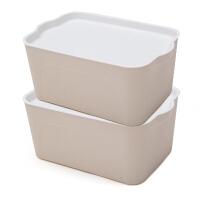 有�w塑料�ξ锵涫占{盒收�{箱居家整理箱�纫路�收�{箱加厚大�抽��
