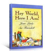 英文原版 Hey World, Here I Am!嘿世界,我在这里!8-9-10-11-12岁阅读诗歌 散文英语平装