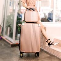 复古行李箱女韩版小清新拉杆箱万向轮男24皮箱旅行密码箱大学生20