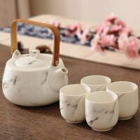 中式泡茶茶壶套装家用花茶茶杯杯具套装水杯水具陶瓷整套功夫茶具