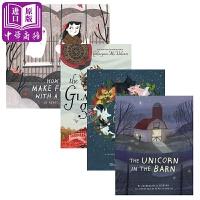 【中商原版】Rebecca Green插画故事绘本4册 英文原版 奇幻故事 儿童文学 3-12岁