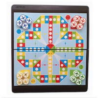 悠享精装小磁石飞行棋 折叠便携式玩具棋牌游戏