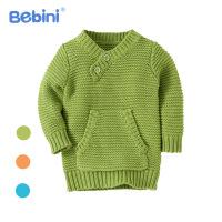 比比昵Bebini 2017儿童针织衫婴幼儿童装秋冬新生儿宝宝衣服童毛衣