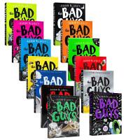 【全店300减110】英文原版 The Bad Guys 大坏蛋/砍人先生11册 Aaron Blabey儿童黑白漫画故事电影小说桥梁书 6-12岁