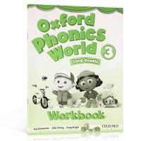 牛津自然拼读 Oxford Phonics World 3 Workbook 练习册 英文原版 Level 3级 自然