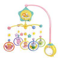 婴儿床铃0-1岁摇铃床头铃玩具3-6个月宝宝音乐旋转