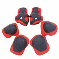 儿童护膝护肘套装 儿童护具自行车平衡车扭扭车套装6件套轮滑溜冰滑板护具