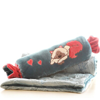 创意糖果抱枕被子两用大号汽车沙发靠垫午睡枕头毯子空调被 150cm*100cm【有夹层,略厚】