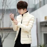 2018冬季新款外套男棉衣韩版修身棉袄潮流帅气短款羽绒男冬装