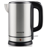 九阳(Joyoung)电热水壶K17-S5开水煲食品级304不锈钢无缝内胆1.7L