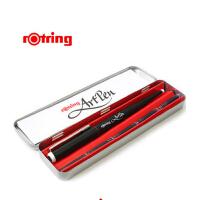 德国Rotring红环Artpen 美术钢笔 艺术钢笔 速写钢笔铁盒