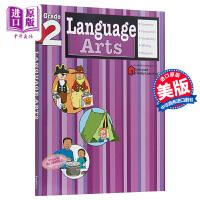 【中商原版】FLASHKID语言艺术习题:2级 Language Arts 教材教辅英文学习6岁以上 英文原版