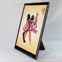旅游纪念礼品皮影装饰画戏曲人物镜框玻璃摆件工艺品