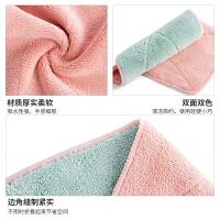 吸水洗碗布擦桌布毛巾厨房不沾油不掉毛清洁抹布擦手巾