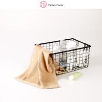 纯色竹纤维毛巾洗脸巾 海澜优选生活馆