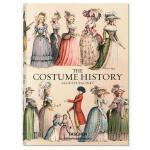 英文原版 古典宫廷服装设计史 礼服大历史全集 Auguste Racinet The Costume History 奥古斯特 拉西 Taschen