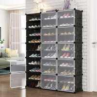 �易鞋柜家用�T口大容量���型防�m宿舍鞋架多�邮占{神器室�群每�