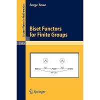 【预订】Biset Functors for Finite Groups