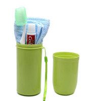 牙刷盒洗漱杯旅行套装漱口杯牙刷毛巾用品个人便携装