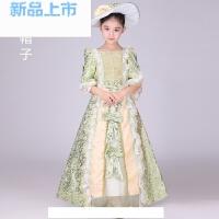 儿童欧洲宫廷英国女皇服装欧式女舞蹈服公主裙礼服古装演出服