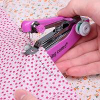 家用易操作小型纫机迷你缝纫机便捷式逢韧机手动缝衣机形