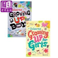 【中商原版】男孩女孩成长问题指南2册 英文原版 Growing up for Boys/Girls