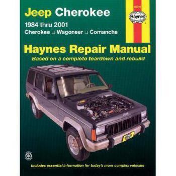 【预订】Jeep Cherokee 1984 Thru 2001: Cherokee, Wagoneer 美国库房发货,通常付款后3-5周到货!