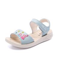 童鞋女童凉鞋夏季新款潮中大童可爱露趾女孩儿童凉鞋