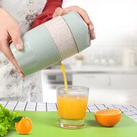 手动榨汁机迷你压橙子汁榨汁器榨汁机家用