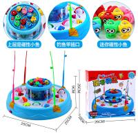 儿童钓鱼玩具女宝宝1-3-6周岁男孩子2女孩4小孩男童