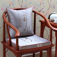 禅意餐椅防滑坐垫实木沙发靠垫座垫