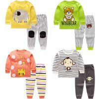 安妮纯儿童纯棉内衣套装男童女童秋衣婴幼儿睡衣两件套宝宝秋衣秋裤套装