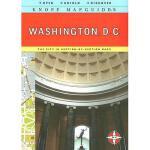 【预订】Knopf Mapguide Washington DC