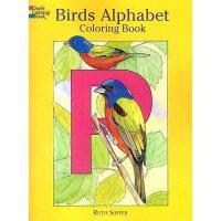 【预订】Birds Alphabet: Coloring Book