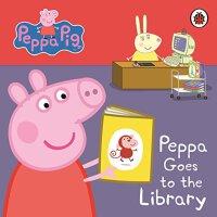粉红猪小妹:佩奇去图书馆【现货】英文原版童书 Peppa Pig: Peppa Goes to the Library