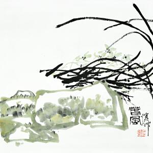 潘公凯 《春风》