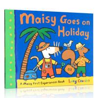【全店300减100】英文原版 Maisy Goes on Holiday 小鼠波波去度假 Lucy Cousins 认