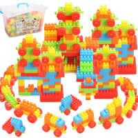 建雄 儿童颗粒塑料拼插积木宝宝早教益智力拼搭男女孩启蒙玩具