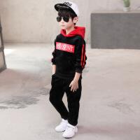 10岁男童套装秋冬季童装2018新款儿童帅气加绒8韩版12潮衣6洋气5