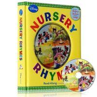 【全店300减100】英文原版进口童书Disney Nursery Rhymes 迪斯尼童谣 儿歌+CD
