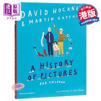 【中商原版】名家名画艺术史 A HISTORY OF PICTURES FOR CHILDREN 绘本图画书 儿童科普