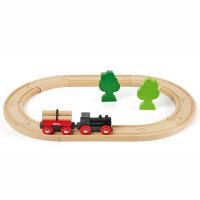 [当当自营]BRIO 经典圆形轨道套装 儿童益智拼插木制轨道小火车玩具 BR33042
