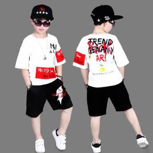 【用券立减100元,到手价77元包邮】乌龟先森 套装 男童长袖长裤拉链衫秋季新款韩版儿童时尚休闲运动中大童两件套