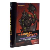 FANTASY ARTIST'S FIGURE DRAWING 魔幻人物插画 动漫CG游戏角色艺术绘画教程书籍
