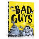 英文原版 The Bad Guys Episode 5 我是大坏蛋/砍人先生启蒙 6-7-8-9岁儿童黑白漫画章节书电
