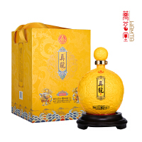 五�Z液股份公司 真��酒天球瓶1.5L大���b