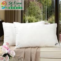 【年货直降】富安娜出品 圣之花超柔舒适纤维枕芯成人情侣可水洗枕74*48cm一个