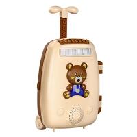 儿童唱歌话筒卡拉ok点唱机宝宝多功能麦克风玩具女孩音乐拉杆箱